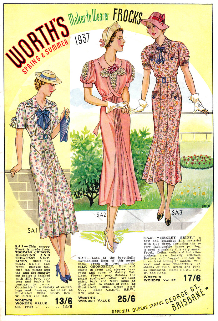 Worth's Spring & Summer 1937