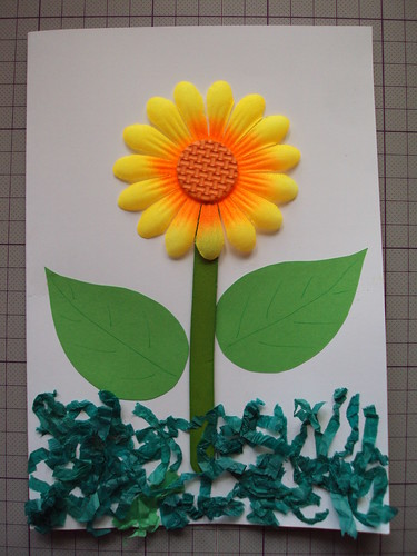 Georgie's Sunflower Card