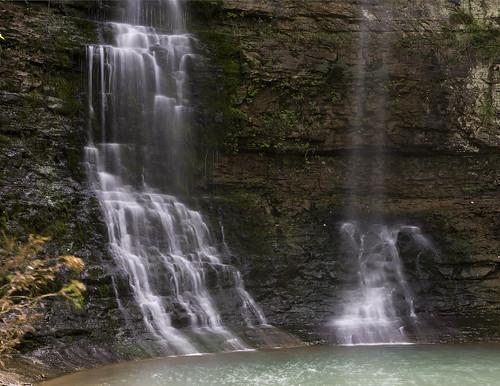 waterfall arkansas triplefalls