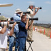 Photographers at March Field Air Museum by linda m bell