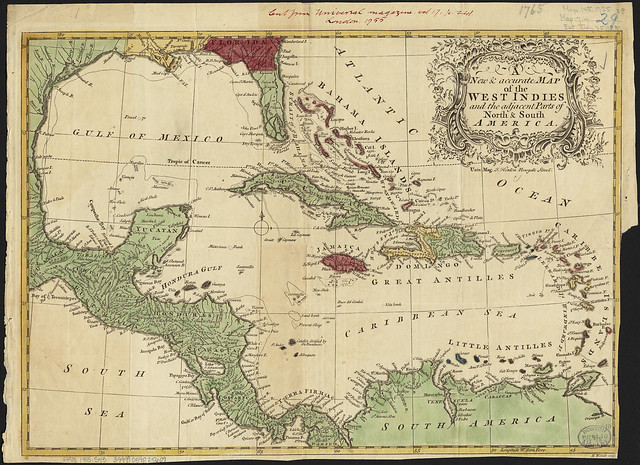 A new accurate map of the West Indies and the adjacent parts of North