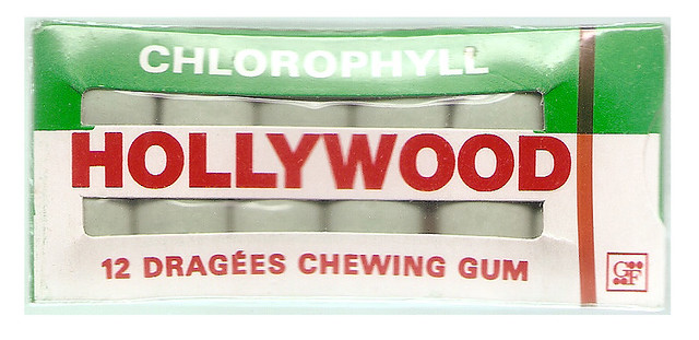 ... Chlorophyll HOLLYWOOD Chewing Gum France | Flickr - Photo Sharing