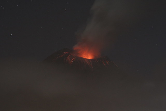 Tungurahua eruption