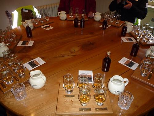 Whisky Tasting at Balvenie Distillery