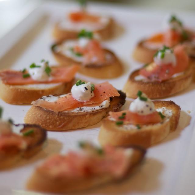 Smoked Salmon Crostini | Flickr - Photo Sharing!