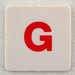 hangman tile red letter G