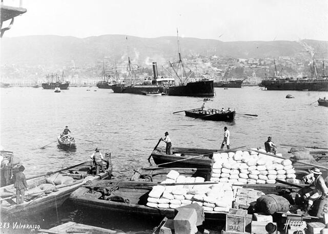 el Puerto de Valparaiso de Heffer