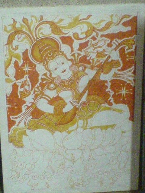 Photo for Asha mural painting guruvayur