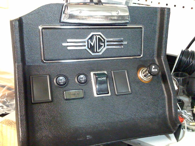 1974 mgb radio console flickr photo