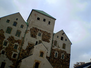 Image of Turku Castle near Turku. autumn finland turku olympus turunlinna