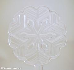 Snowflake lollipop Mould