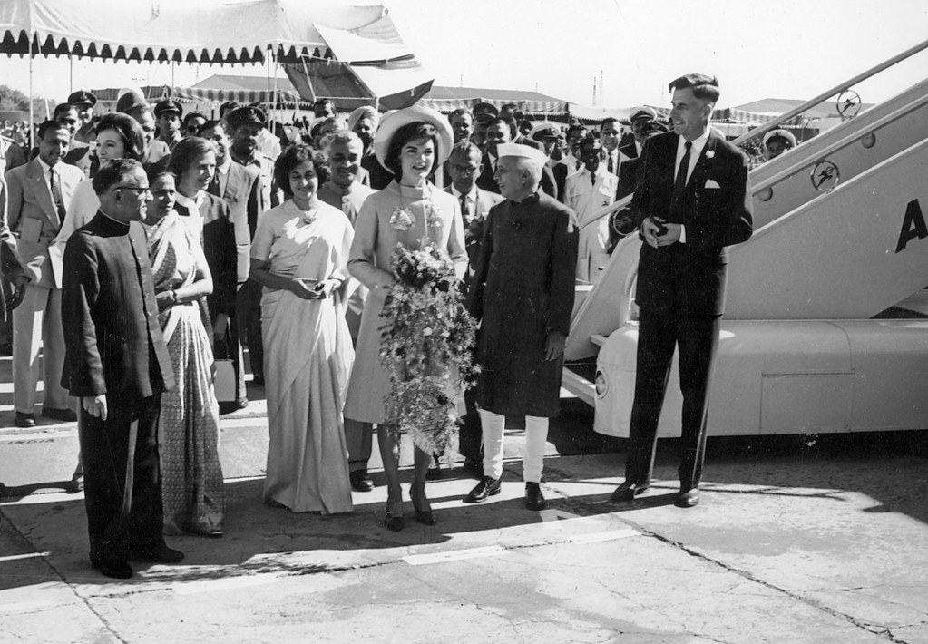 Archives: First Lady Jacqueline Kennedy's visit to India