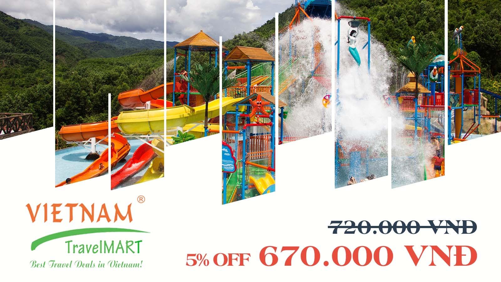 VIETNAM TRAVELMART JSC | 5% OFF THAN TAI HOT SPRING PARK DAILY TOUR