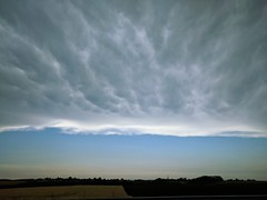 Interesting clouds over the Normandy - Photo of Framerville-Rainecourt