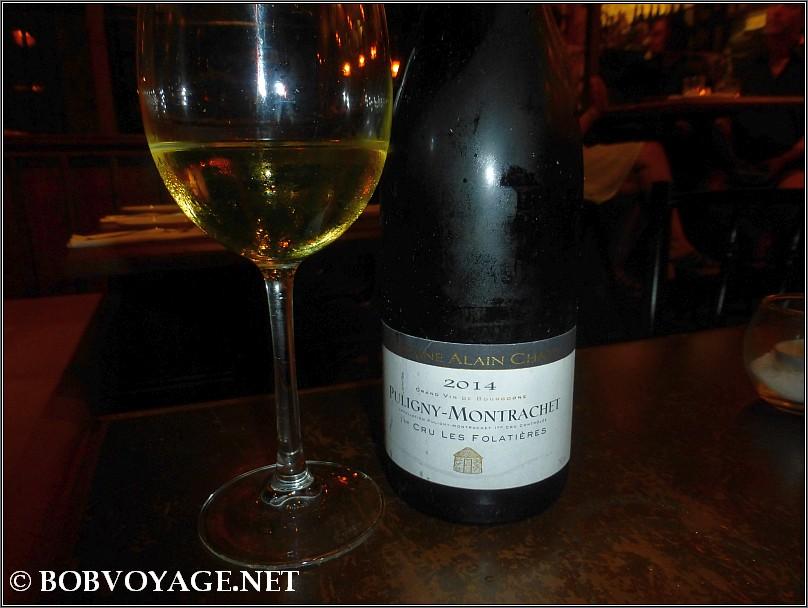 Domaine Alain Chavy Puligny Montrachet Les Folatieres 2014 ב- קפה אל נור