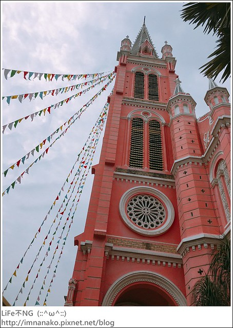 胡志明市-粉紅教堂