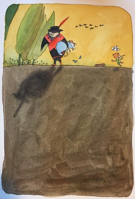 Pinokkio geïnspireerd door Chun Eun Sil