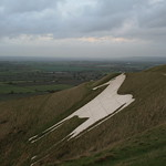 The White Horse - Westbury Hill, Bratton Downs, Westbury, Wiltshire, South West England