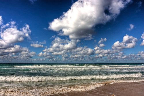 Sea and clouds – Netanya, Israel