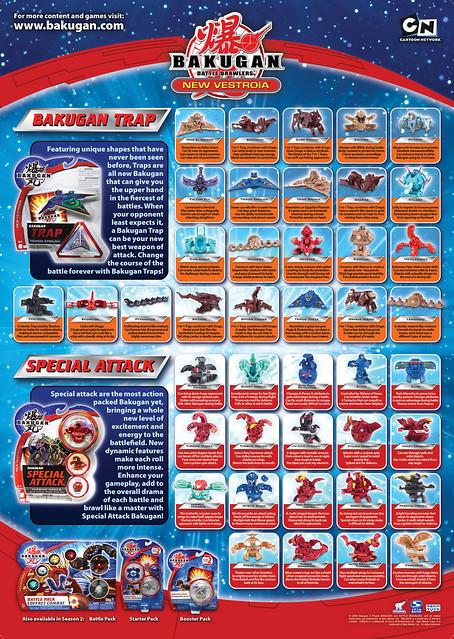 Toy Names A Z : Bakugan season poster back flickr photo sharing