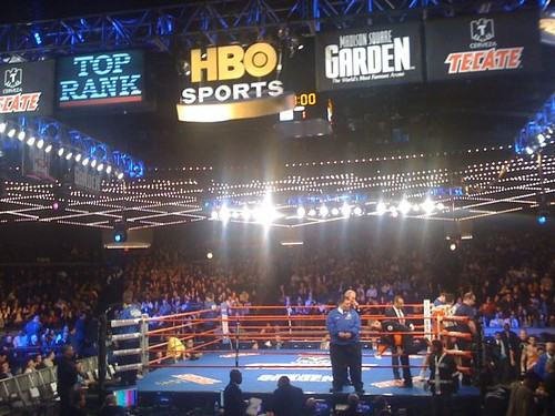 Hbo Sports Boxing After Dark At Madison Square Garden