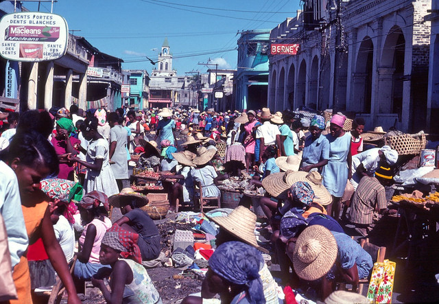 Street market, Port au Prince