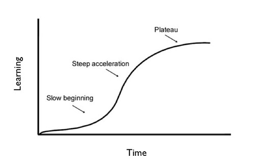 Learning curve, as illustrated by David McDaniel