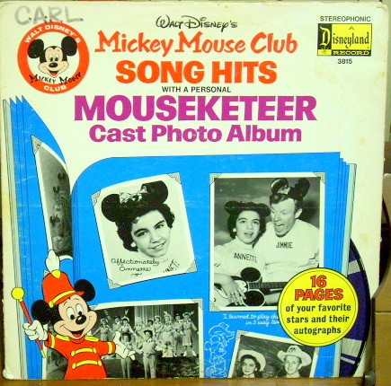 Mickey Mouse Club Song Hits