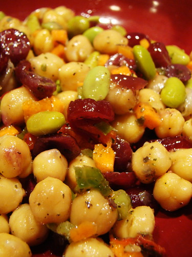 Cranberry Chick Pea Salad