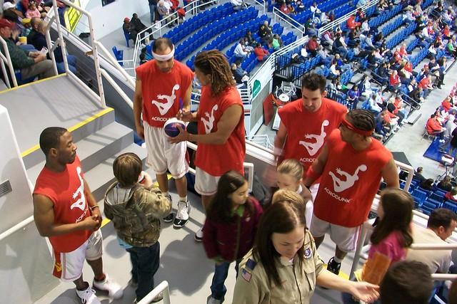 South alabama basketball team acrodunk by au tiger01 flickr