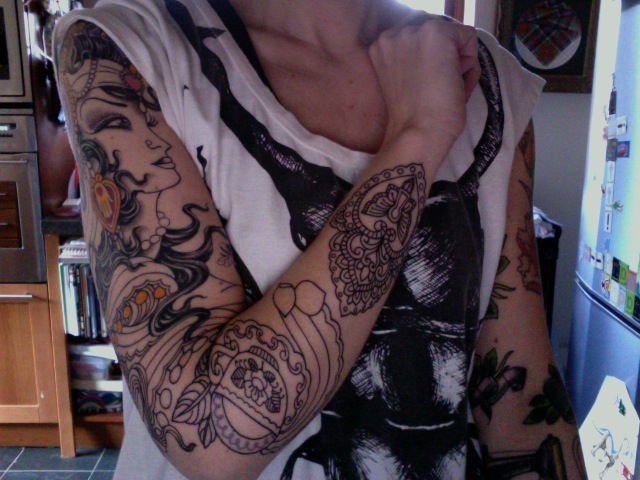 the never ending gypsy lady tattoo grows | 'so, Saira ...