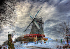 Vlotho - Windmühle in Exter