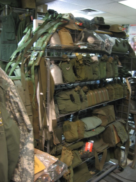 Military Surplus Store