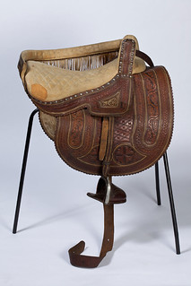 A leather side-saddle from South America, LC1989_16.1