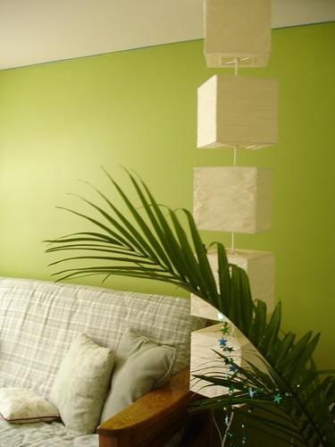 Ilumina tu salu00f3n con el color verde : Interiores3de - Decoracion de ...