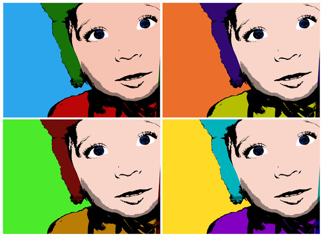 Andy Warhol style
