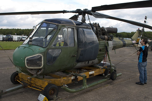 G-BXRL - XP630 - F9639 - Army Air Corps - Westland Scout AH1 - Bruntingthorpe - 080803 - Steven Gray - IMG_3441