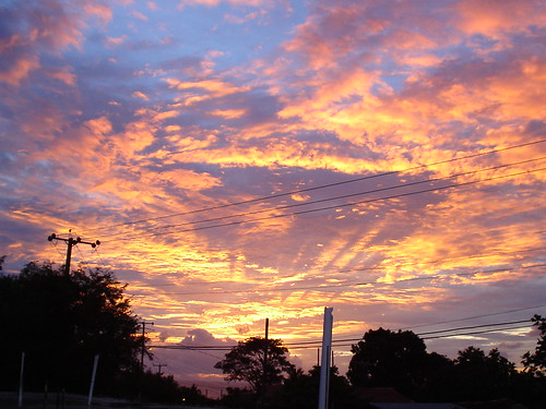Beautiful skies in Choiseul