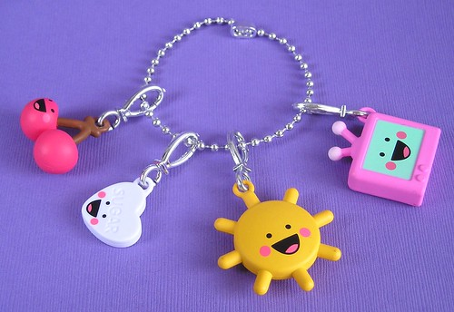 charm bracelet from Moxie Mini Happy