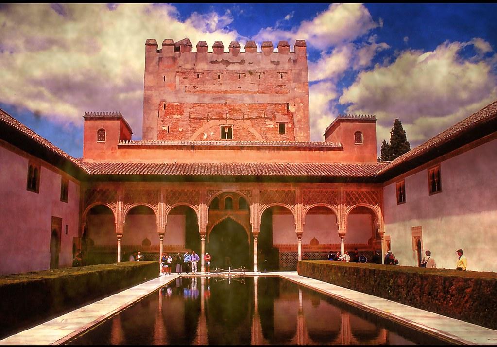 Alhambra  .. Granada .. Spain