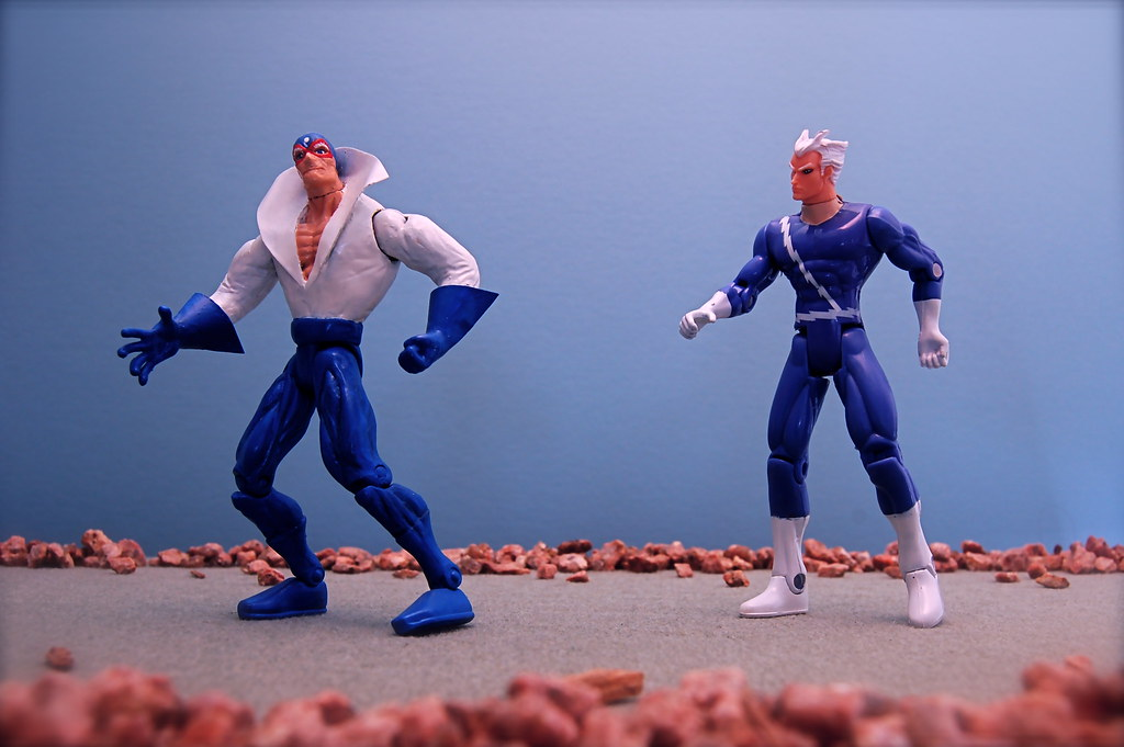 Max Mercury vs. Quicksilver (72/365)