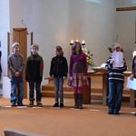 Segnungsgottesdienst der Vorkonfirmanden 2010