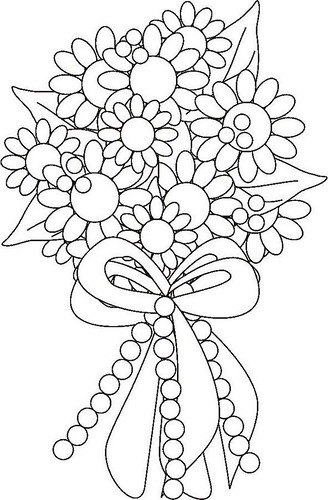 Flower Saguita Colouring Pages Cool Flower Coloring Pages