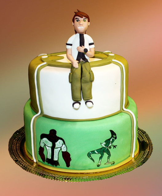 Ben 10 Cakes A Gallery On Flickr