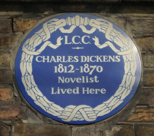 "Foto ""Charles Dickens"" by liits - flickr"