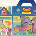 Wendy's Kids' Meal :: Wendy's PRESENTS 'The JETSONS' ii (( 1989 )) by tOkKa