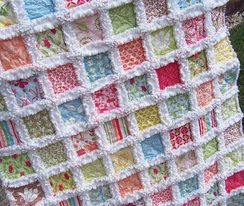 The Beach Resort Baby Rag Quilt
