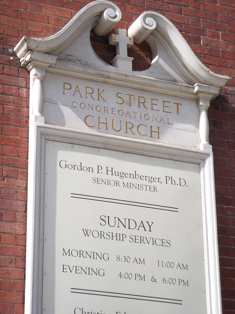 park street church sign