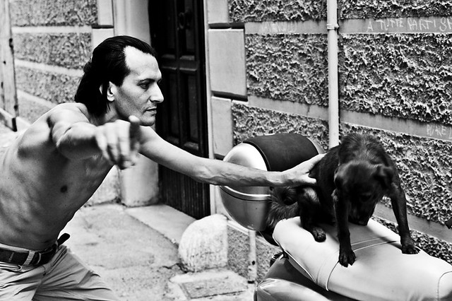 don't feel like getting portraited [Taranto Vecchia 2009]