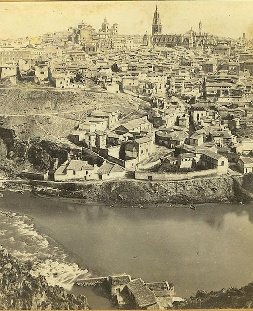 Vista General de Toledo en 1863 por Ernest Lamy